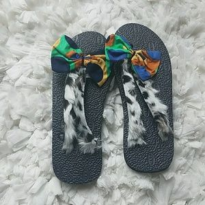 (Faux) Leopard Spotted Summer Slippers